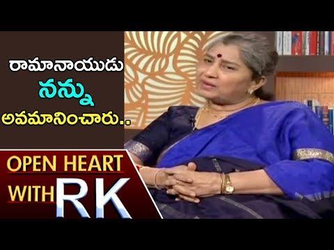 Senior Actress Annapurna On D Ramanaidu And ANR | Open Heart With RK | ABN Telugu