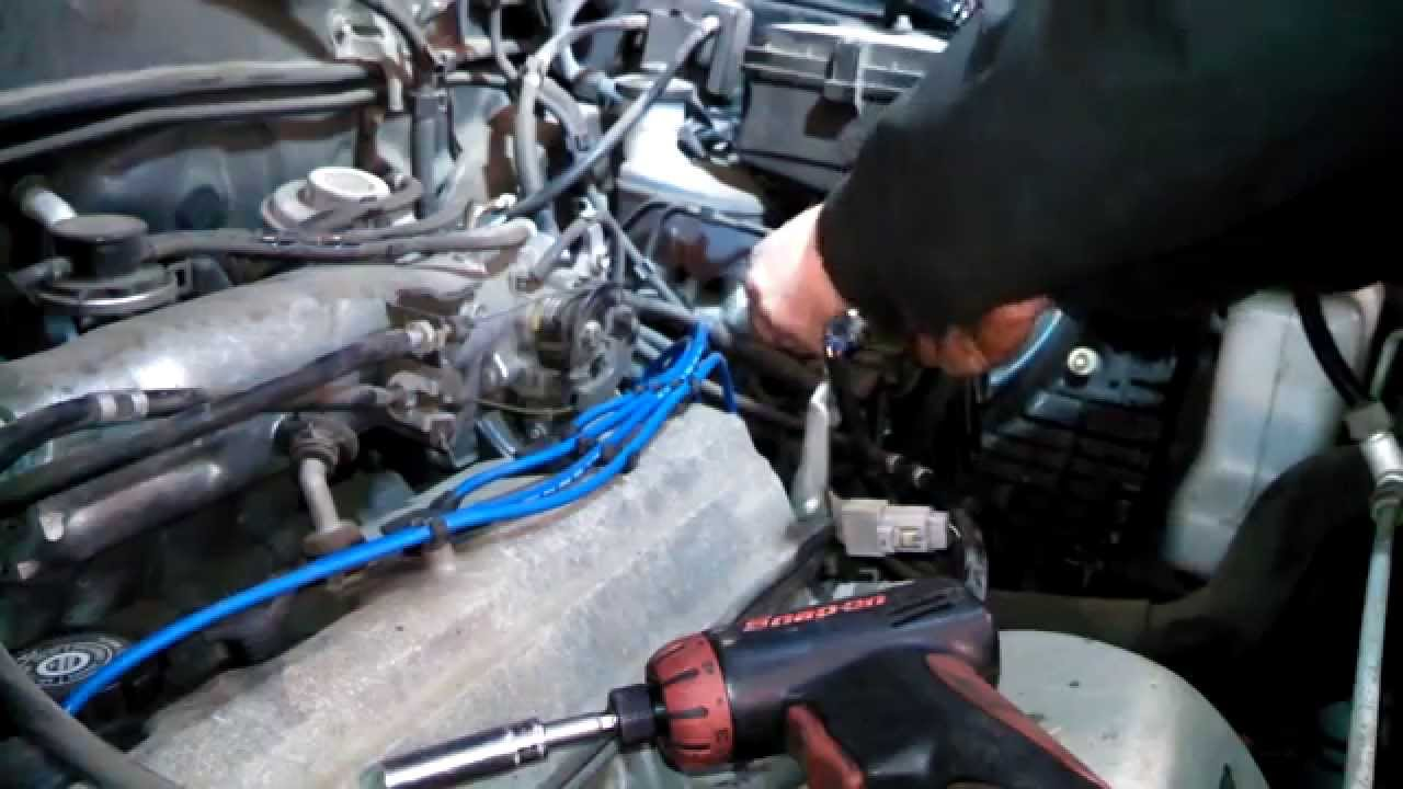 fuel filter replacement 2000 toyota rav4 install remove replace how to