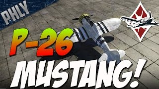War Thunder P-26 Mustang! War Thunder Gameplay