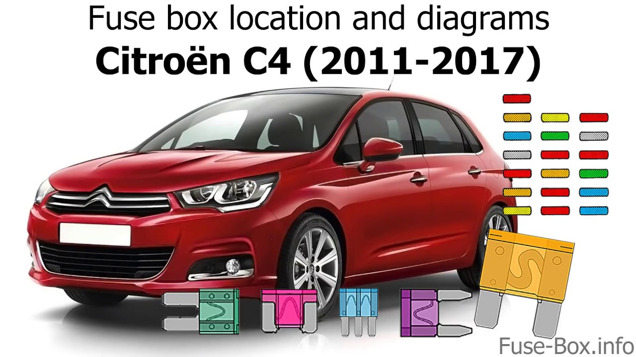 Fuse box location and diagrams: Citroen C4 (2011-2017 ...