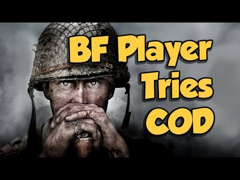 BF1 Player checks out COD WW2 Multiplayer