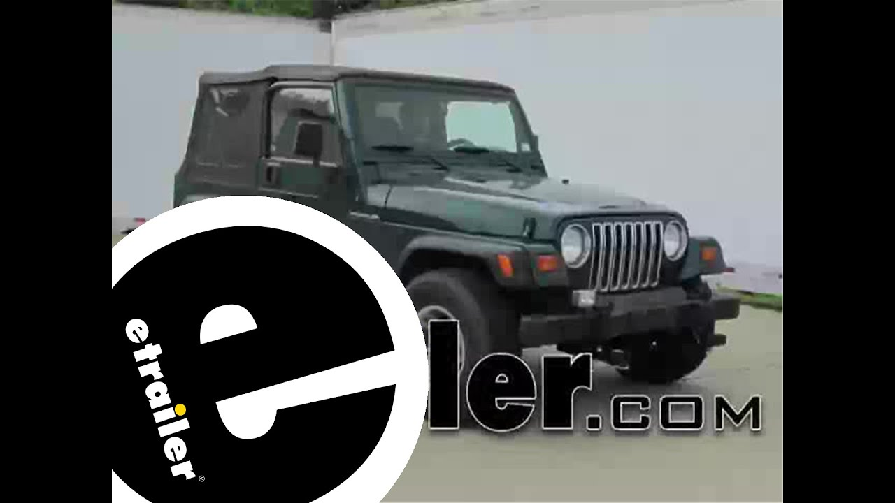 hight resolution of roadmaster tail light wiring kit installation 1998 jeep wrangler etrailer com
