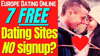 😍 😍  7 Best Free Dating Sites With No Sign Up screenshot 5