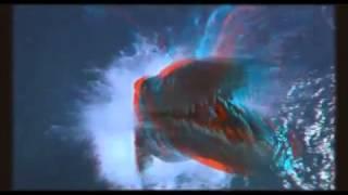 ЗD видео! Жесть! Динозавры как настоящие! Анаглиф(Чтобы ощутить на этом видео 3D эффект нужны очки с цветными стёклами (красный, синий)! И действительно, создаё..., 2014-06-04T18:35:11.000Z)