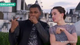 John Boyega and Daisy Ridley~ I Really Like You