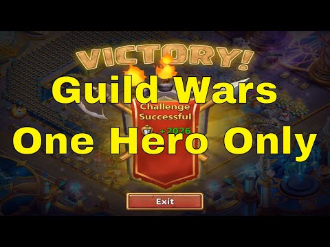 Castle Clash Guild Wars With One Hero 10K+ Points (Dedicated To Sua: Future CC Champion)