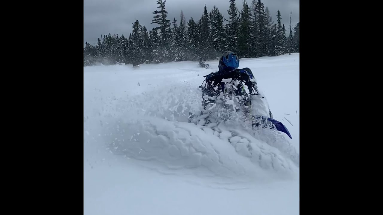 Yamaha YZ450F & SnowBikes SHREDDING PARADISE SWAMP!!!