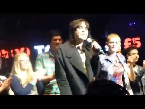 Noel Fielding introducing The Cure at Teenage Cancer Trust at the Royal Albert Hall March 29th 2014