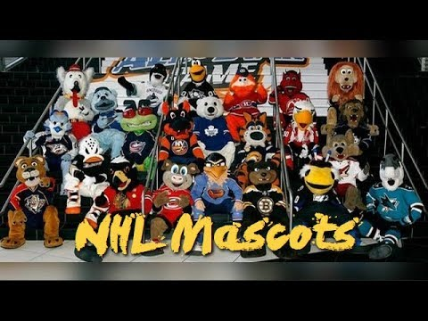 🏑🏑 NHL All team mascots 🏑🏑