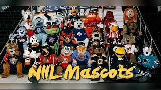 🏑🏑 NHL All team mascots - (High Quality   1080p) 🏑🏑