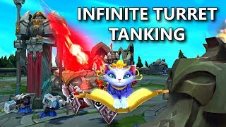 YUUMI NEW BUG ABUSE? Infinite Turret Tanking!