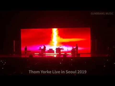 Thom Yorke(? ??) 'Interference'(Opening) LIVE In KOREA [190728 Olympic Park Olympic Hall]