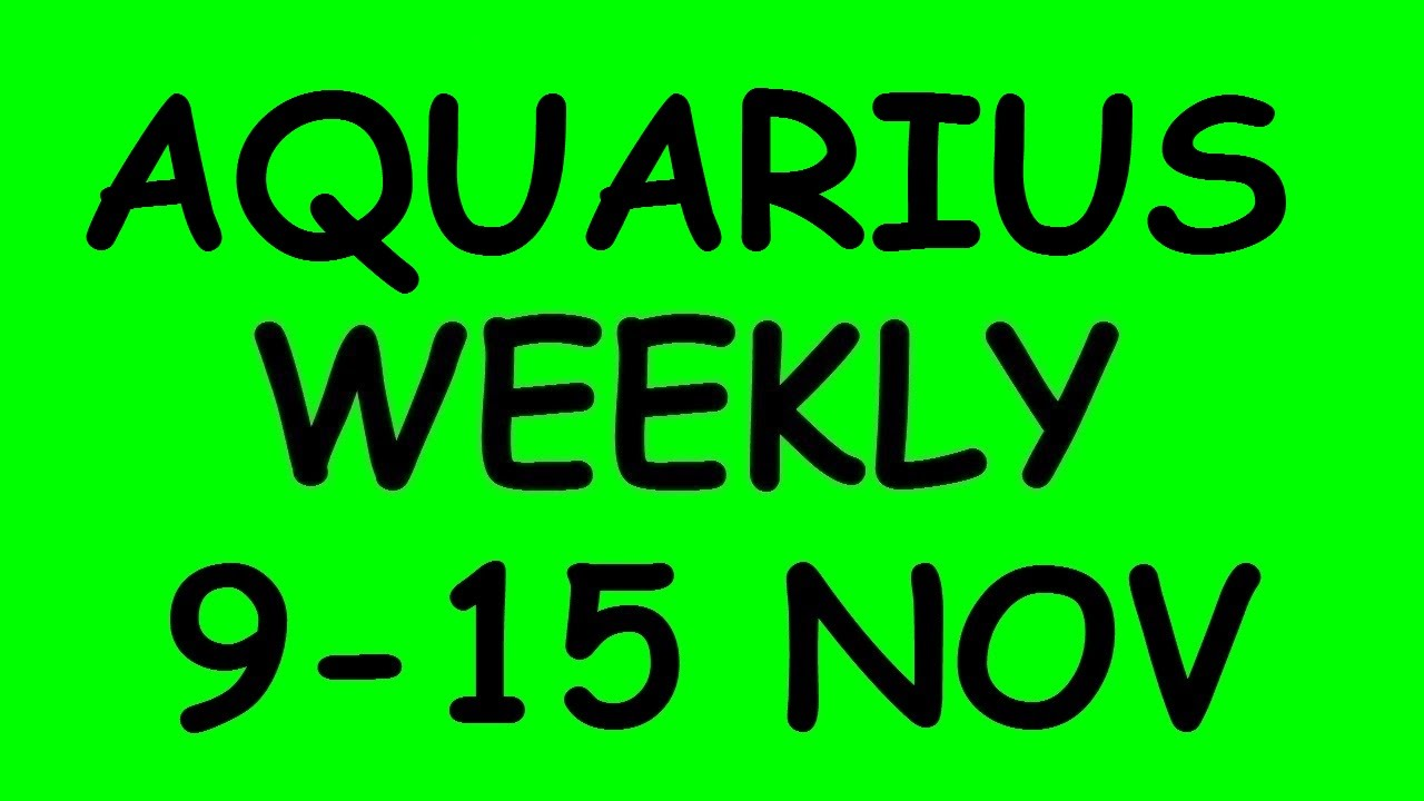 aquarius weekly 9 to 15 tarot