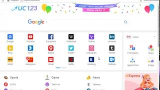 Gambar cover How to Download and install UC Browser for Pc and Laptop Video Tutorial Urdu.Hindi  2017