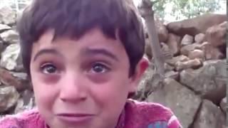 Слезы в глазах маленьких детей  Сирия online video cutter com