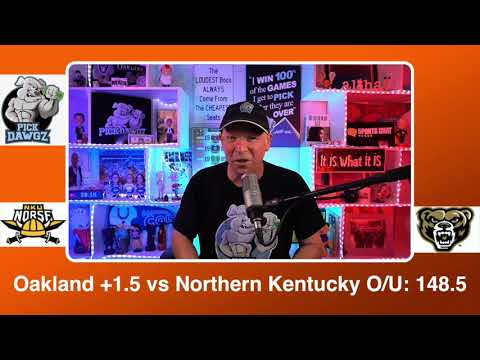 Oakland vs Northern Kentucky 3/8/21 Free College Basketball Pick and Prediction CBB Betting Tips