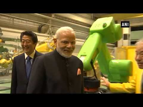 Watch: PM Modi & Japan counterpart visit Fanuc Corporation in Yamanashi Prefecture