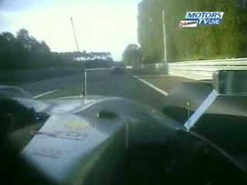 Audi R10 Peugeot 908 Onboard- Le Mans 24 Hours 2007