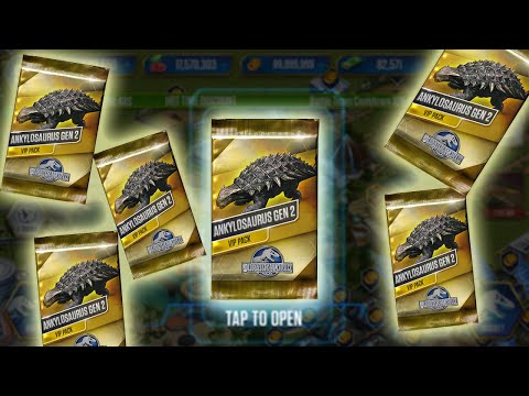 Jurassic World™: The Game || ANKYLOSAURUS GEN 2 PACK EVERY WHERE - BUT I CAN'T GOT IT [Full HD] |