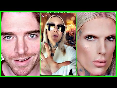 Shane Dawson Jeffree Star DRAMA With James Charles