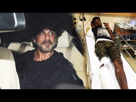Shahrukh Khan's Car Ran Over A Photographer's Leg