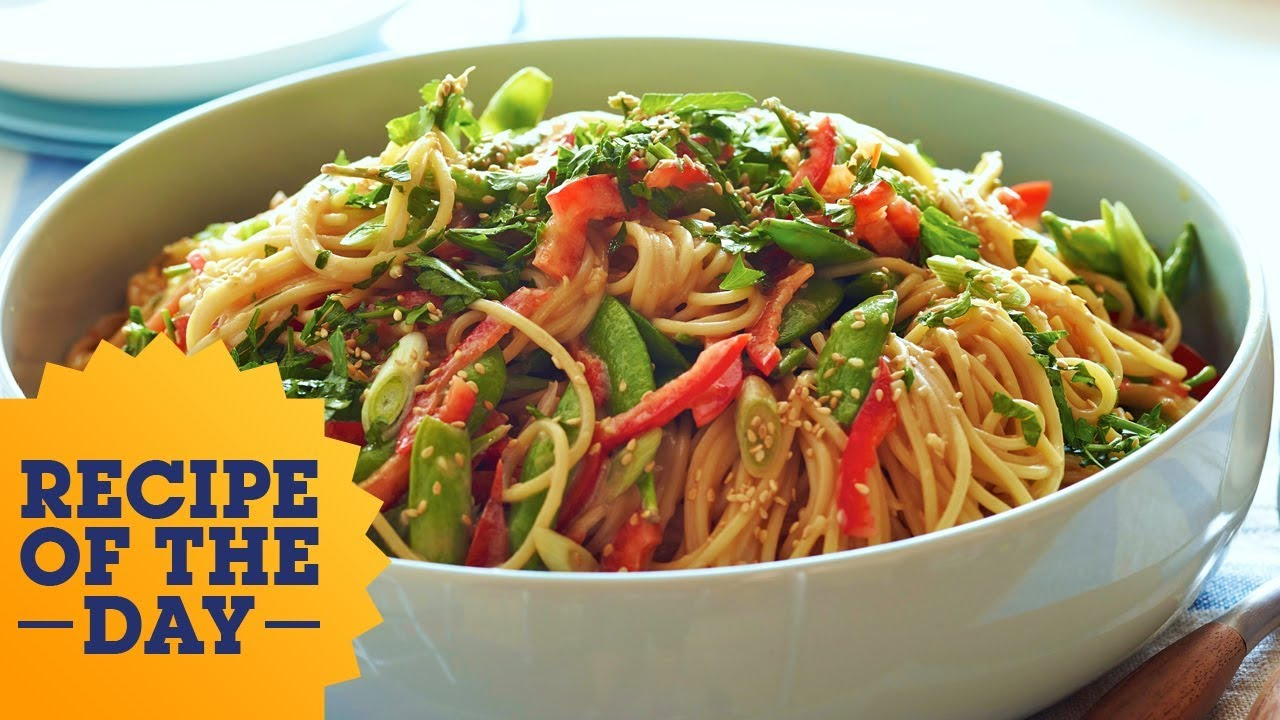 Recipe of the day inas crunchy noodle salad food network youtube recipe of the day inas crunchy noodle salad food network forumfinder Gallery