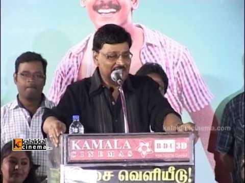 K Bakyaraj at Saravana Poigai Movie Audio Launch