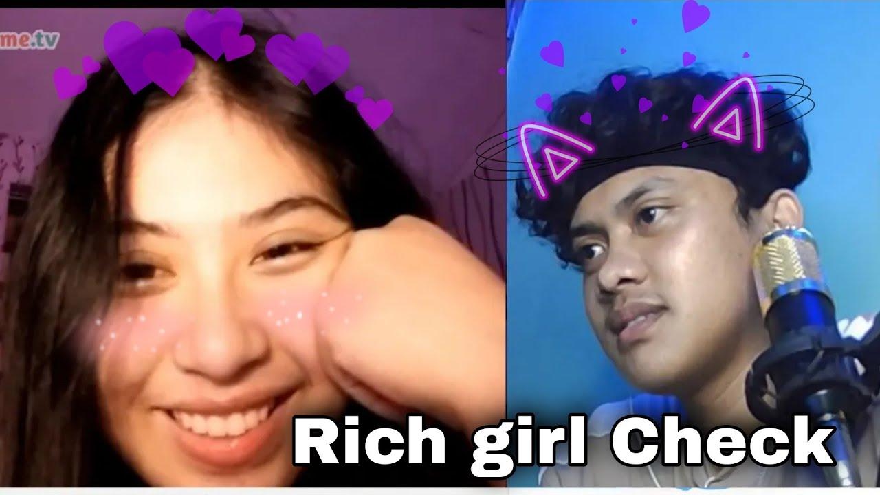 Harana sa OmeTv.. RICH GIRL CHECK!! (this girl stole my heart ❤️) || Omegle || Majie Dela Cruz