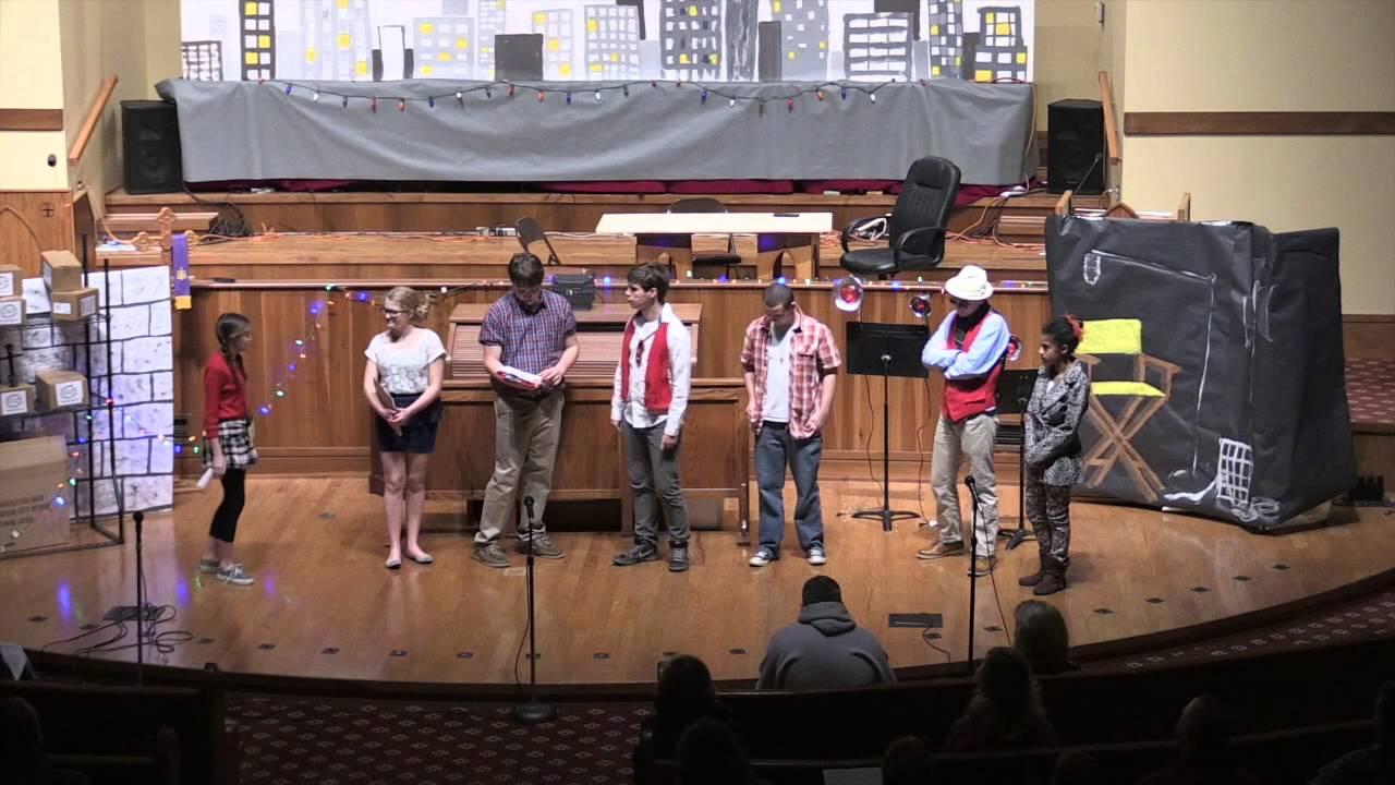 Epworth Youth Christmas Play 2014 - YouTube