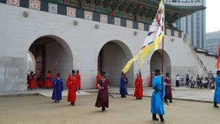 Changing of the Royal Guard, Gyeongbokgung Palace-Seoul, South Korea