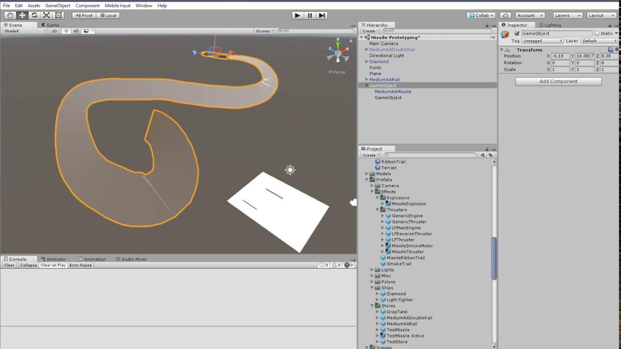 Unity 3D: Space Physics Experiments 08 Bonus - How I made that ribbon trail