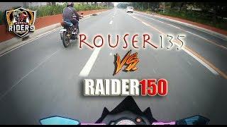 ROUSER 135 vs RAIDER 150 - OVERLOADED(Literally) X (160KPH - SPEEDOMETER LIMIT)