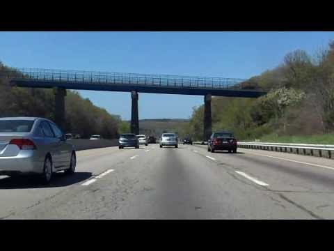 Massachusetts Turnpike (Interstate 90 Exits 11 to 10) westbound