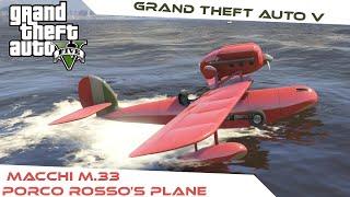 Download Video Grand Theft Auto V [MOD] : Porco Rosso :  Macchi M.33 (plane mod) [PC][HD] MP3 3GP MP4