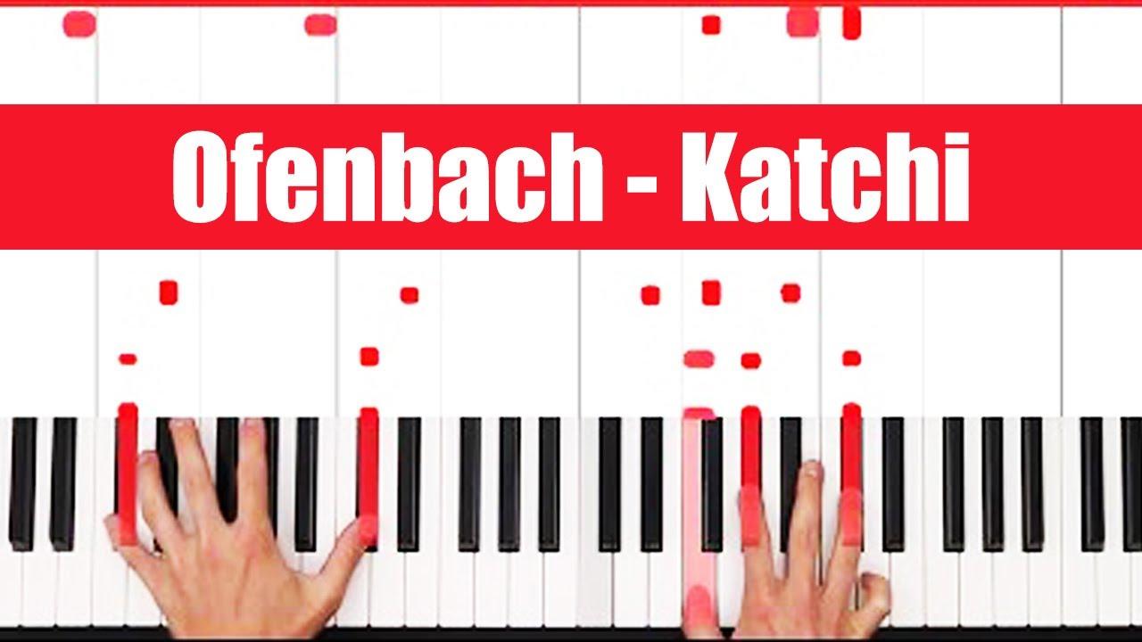 Katchi Ofenbach vs Nick Waterhouse Piano Tutorial - INSTRUMENTAL #1