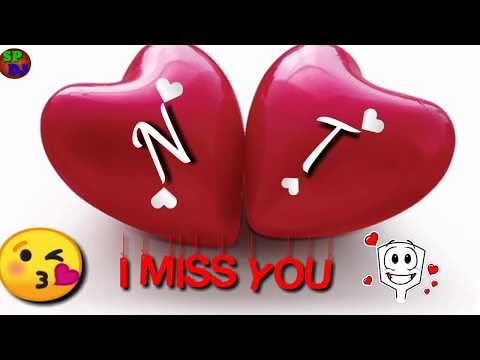 N 💑 T Letter love ❤️    WhatsApp status    N+T Letter WhatsApp status new video