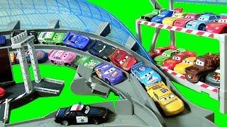 BIGGEST CARS 3 Track SET! Ultimate Florida Speedway Track Playset DisneyPixarCars3 Motorized Booster