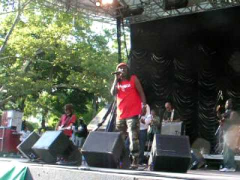 Alpha Blondy, Peace In Liberia, Central Park Summerstage, NYC, 7-19-09