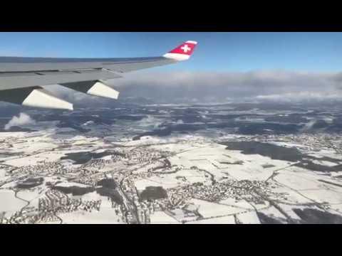 SWISS International Airline - Aerbus A330-300 - Takeoff & Landing ZRH to JFK - December 2017