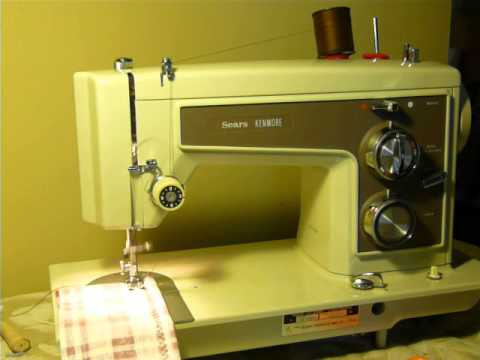 NIFTYTHRIFTYGIRL Gorgeous Nearmint Kenmore 40 Sewing Machine Magnificent Who Makes Kenmore Sewing Machines For Sears