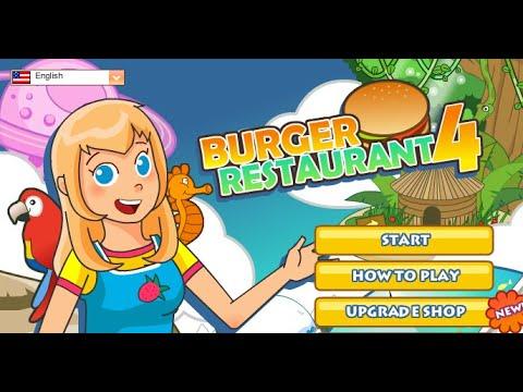Burger Restaurant Spiel