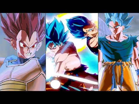 DBS Broly Movie Pack: Goku & Vegeta (All Forms) SSG-SSB w/Additional Battle Damage Variations   XV2