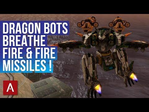 War Robots NEW CHINESE DRAGON Robots! / Ao Jun and Ao Guang Gameplay / Test Server 4.7   WR