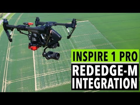 Mounting a Micasense RedEdge multispectral camera on an Inspire 1 Pro with  an integration kit