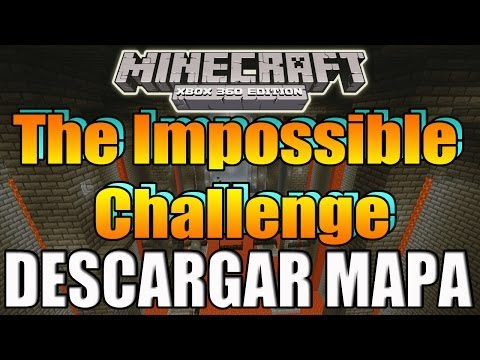 Minecraft Xbox 360 - Descargar Mapa - The Impossible Challenge - Parkour
