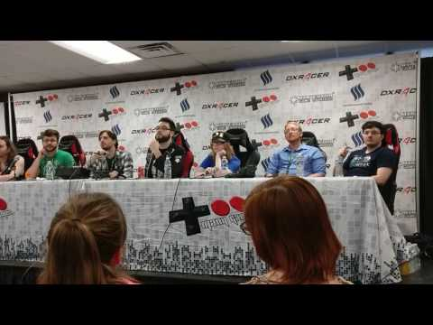 Vinesauce Team Q&A at Too Many Games 2017