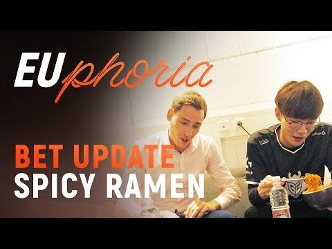 EUphoria Bet Update | Spicy Ramen Challenge w/ Deficio & Wadid