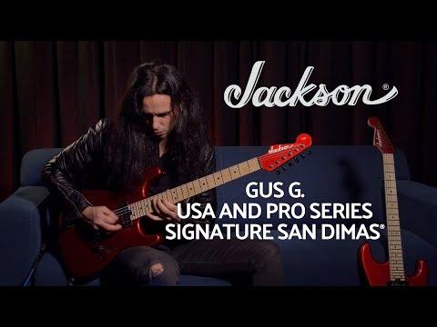 Gus G. Showcases His Jackson All-New Signature San Dimas Models