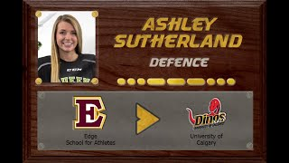 Ashley Sutherland - CSSHL to USports | Stand Out Sports Client Hall of Fame