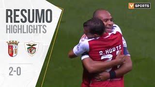 Highlights   Resumo: SC Braga 2-0 Santa Clara (Liga 19/20 #8)
